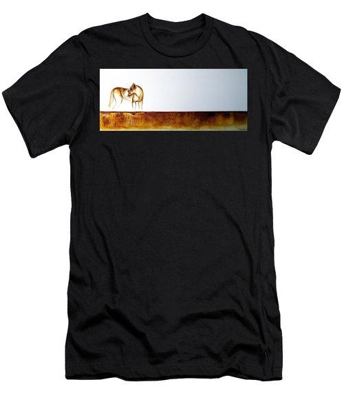 Lioness - Original Artwork Men's T-Shirt (Athletic Fit)
