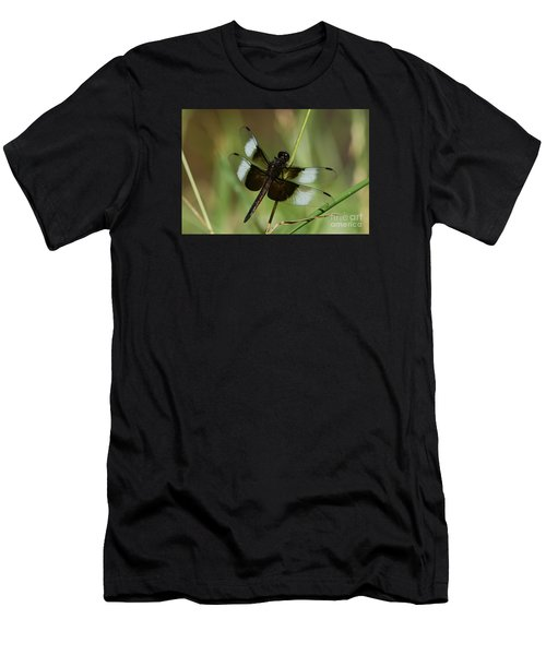 Male Widow Skimmer Dragonfly Men's T-Shirt (Athletic Fit)
