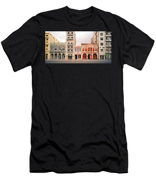 Malecon In Havana Men's T-Shirt (Athletic Fit)