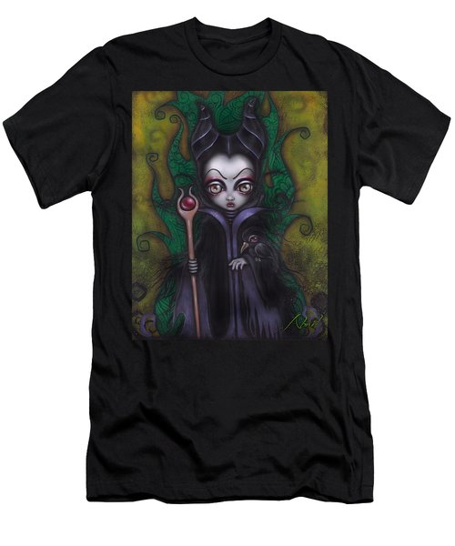 Maleficent  Men's T-Shirt (Slim Fit) by Abril Andrade Griffith