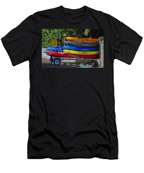 Malibu Kayaks Men's T-Shirt (Athletic Fit)