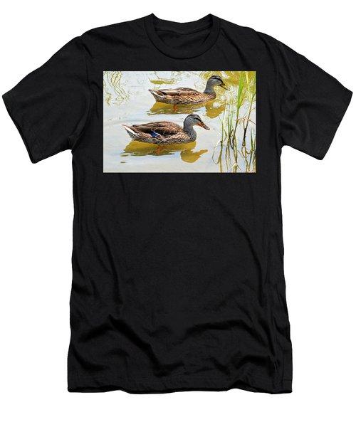 Mallards Men's T-Shirt (Athletic Fit)