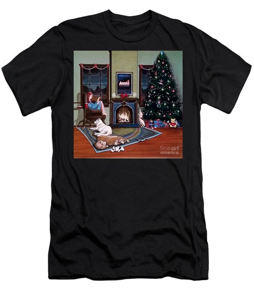 Mallory Christmas Men's T-Shirt (Athletic Fit)