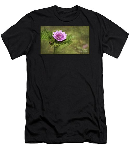 Mallow Hollyhock Men's T-Shirt (Athletic Fit)