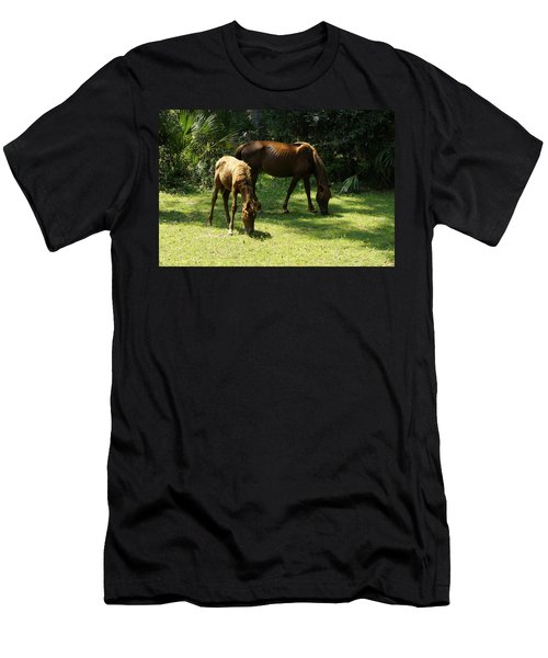 Mama And Baby Men's T-Shirt (Athletic Fit)