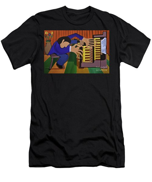 The Organist Men's T-Shirt (Athletic Fit)