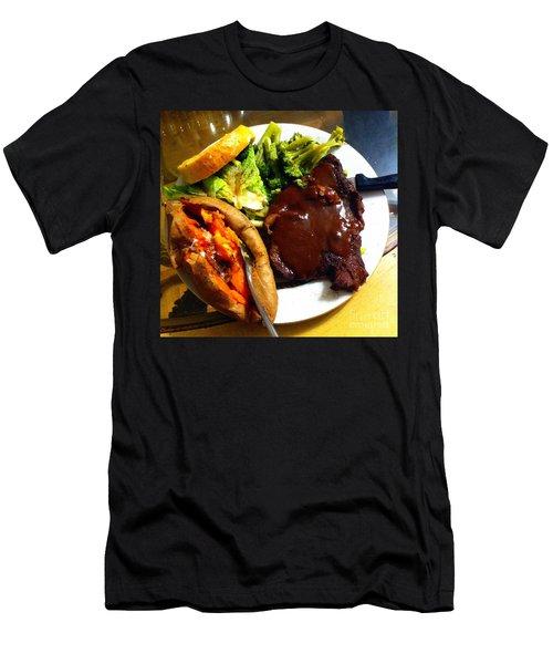 Man Food Men's T-Shirt (Athletic Fit)