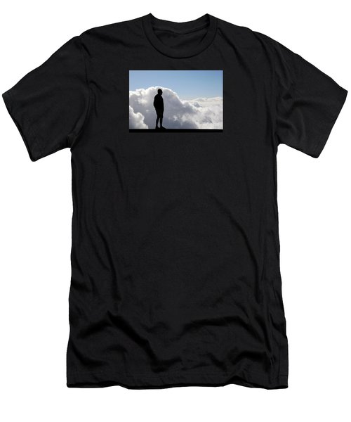 Man In The Clouds Men's T-Shirt (Athletic Fit)