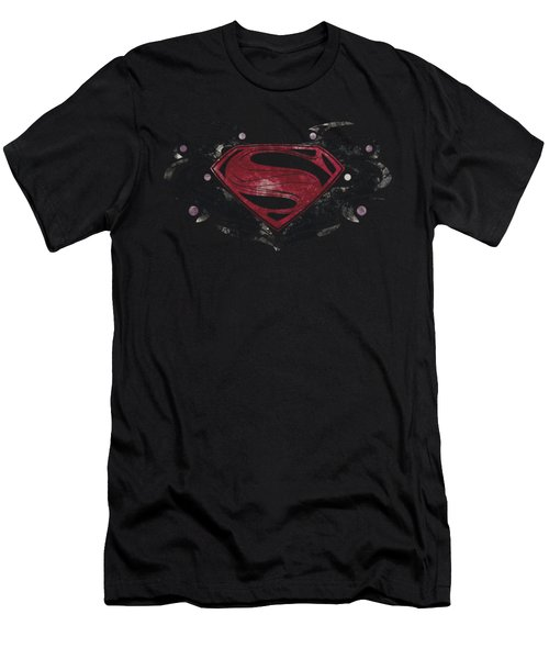 Man Of Steel - Mos Flourish Logo Men's T-Shirt (Athletic Fit)