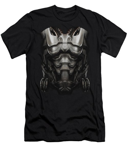 Man Of Steel - Zod Armor Men's T-Shirt (Athletic Fit)