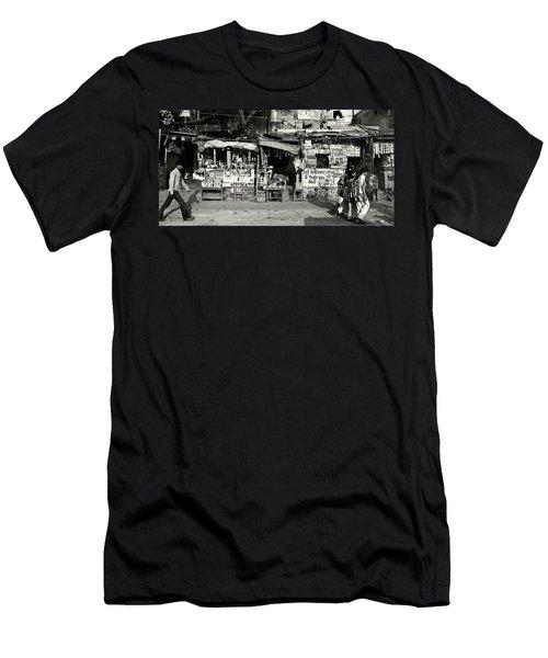 Man Woman And Schoolgirls Men's T-Shirt (Athletic Fit)