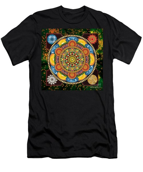 Mandala Elements Men's T-Shirt (Athletic Fit)