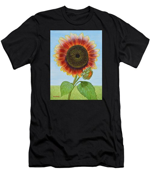 Mandy's Magnificent Sunflower Men's T-Shirt (Athletic Fit)