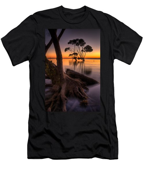 Mangroves Of Beachmere Men's T-Shirt (Athletic Fit)