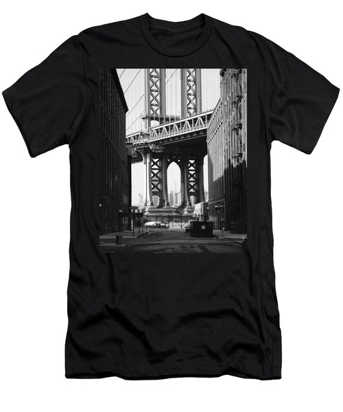 Manhattan Bridge Men's T-Shirt (Athletic Fit)