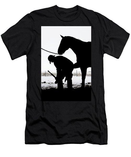 Manicure Men's T-Shirt (Athletic Fit)