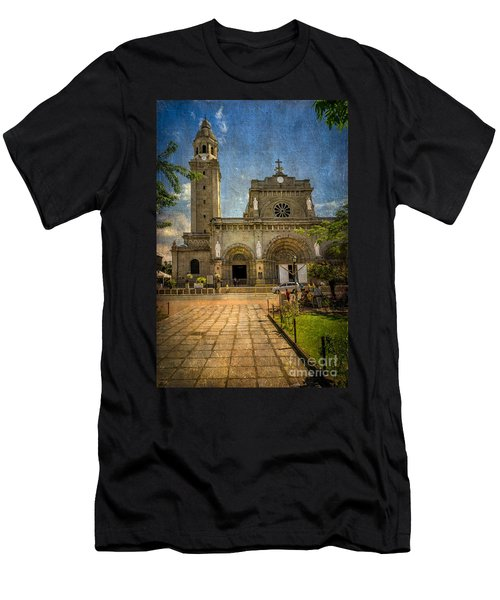 Manila Cathedral Men's T-Shirt (Athletic Fit)