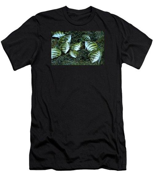 Manini Catch Men's T-Shirt (Slim Fit) by Lehua Pekelo-Stearns
