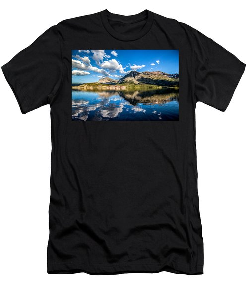 Many Glacier Hotel Men's T-Shirt (Athletic Fit)