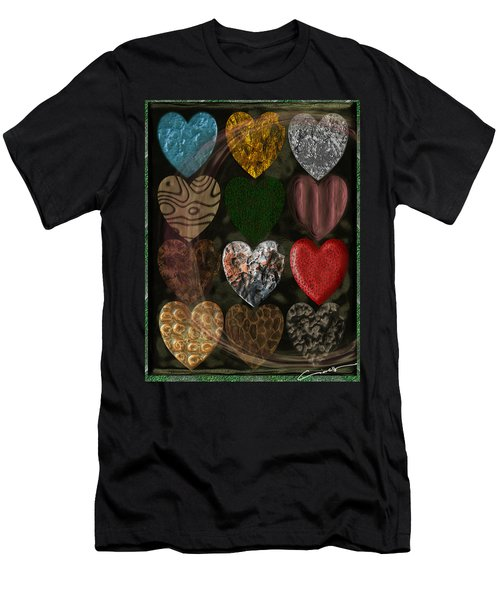Many Types Of Love Men's T-Shirt (Athletic Fit)