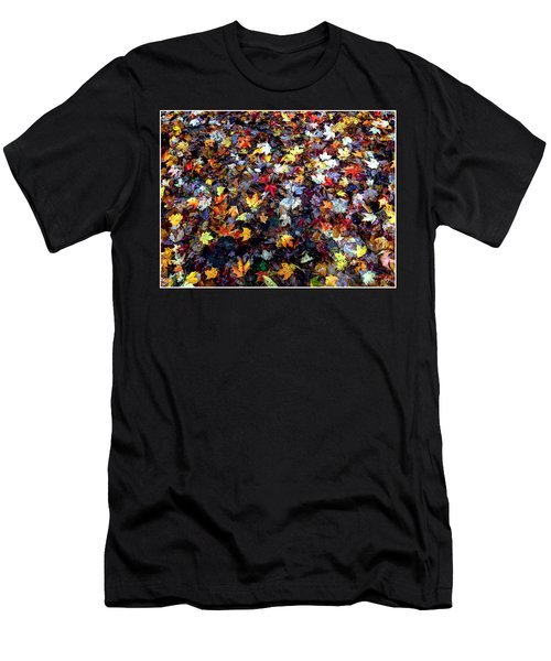 Men's T-Shirt (Athletic Fit) featuring the photograph Maple Chaos by Wayne King