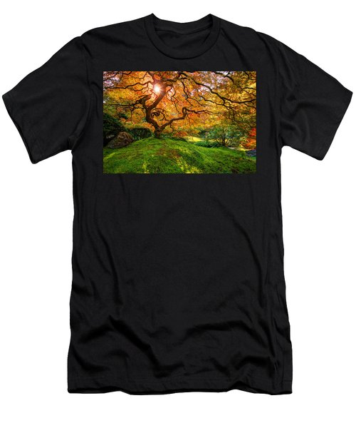 Men's T-Shirt (Athletic Fit) featuring the photograph Maple  by Dustin  LeFevre