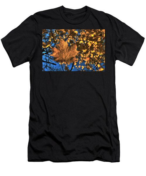 Maple Leaf Still Standing Men's T-Shirt (Athletic Fit)