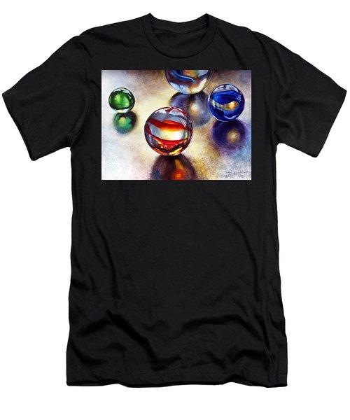 Marbles 2 Men's T-Shirt (Athletic Fit)