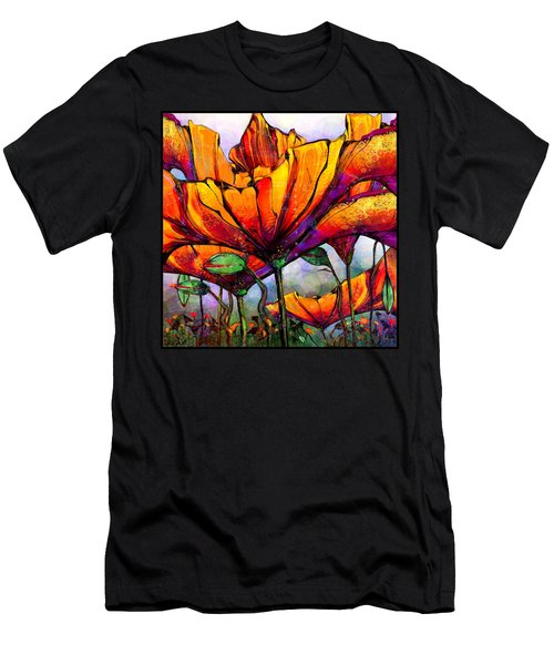 March Of The Poppies Men's T-Shirt (Athletic Fit)