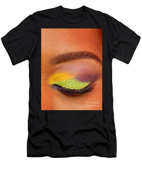 Mardi Gras 2014 Eye See Colors Of Mardi Gras Men's T-Shirt (Athletic Fit)