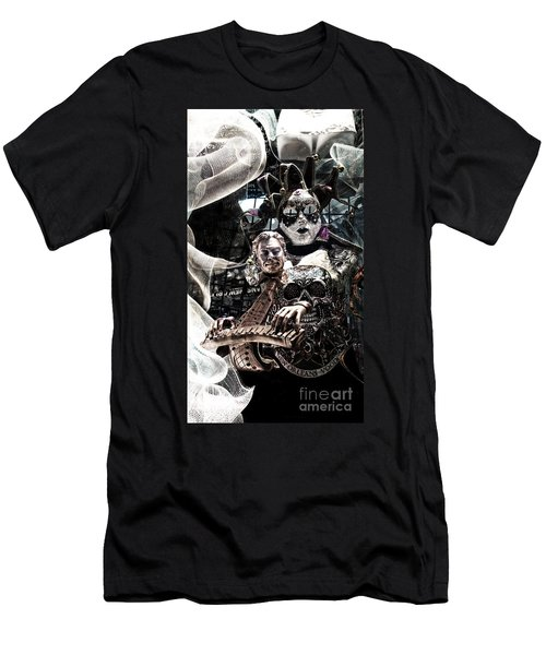 Mardi Gras Still Life 1 Men's T-Shirt (Athletic Fit)