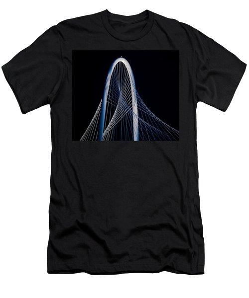 Margaret Hunt Hill Bridge Men's T-Shirt (Slim Fit) by Darryl Dalton