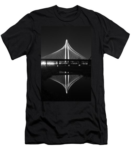 Margaret Hunt Hill Bridge Reflection Men's T-Shirt (Athletic Fit)