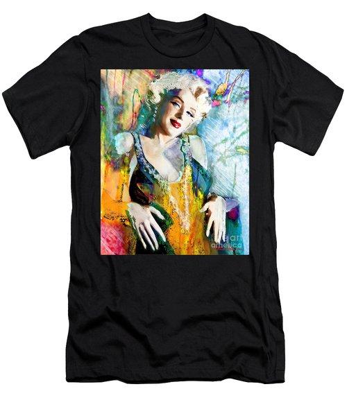 Marilyn Monroe 126 E Men's T-Shirt (Athletic Fit)