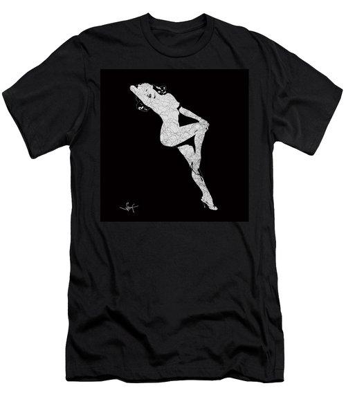 Marilyn Monroe The Lightning Men's T-Shirt (Athletic Fit)