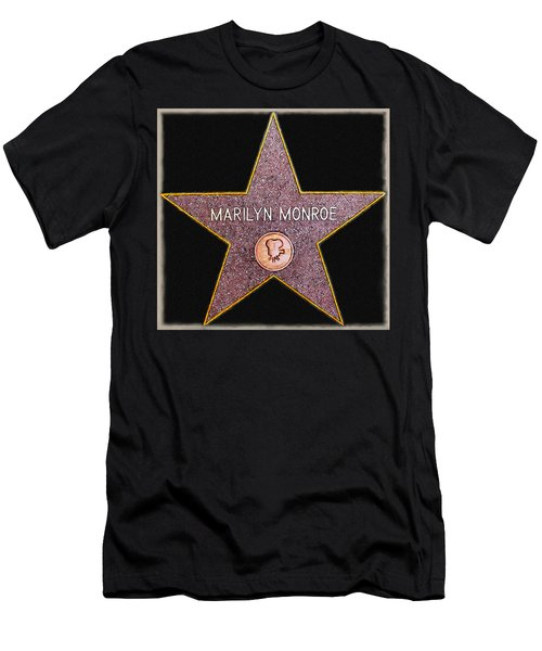 Marilyn Monroe's Star Painting  Men's T-Shirt (Athletic Fit)