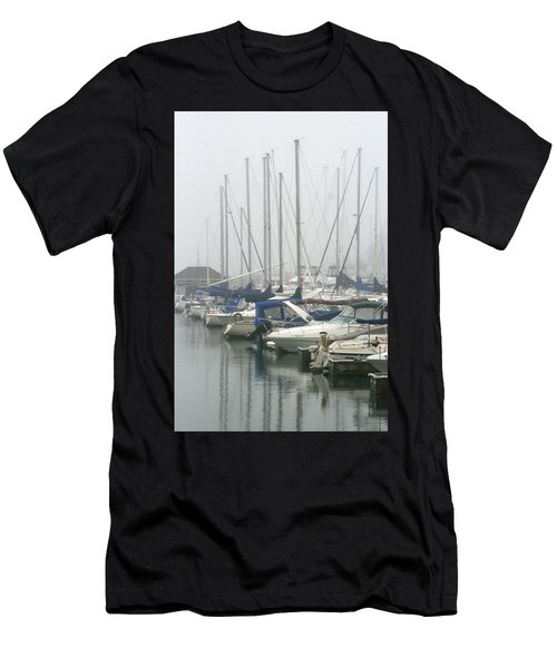 Marina Reflections Men's T-Shirt (Athletic Fit)