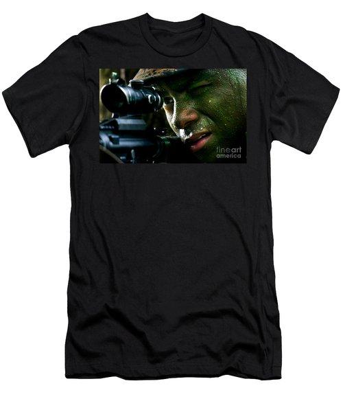 Marines Men's T-Shirt (Athletic Fit)
