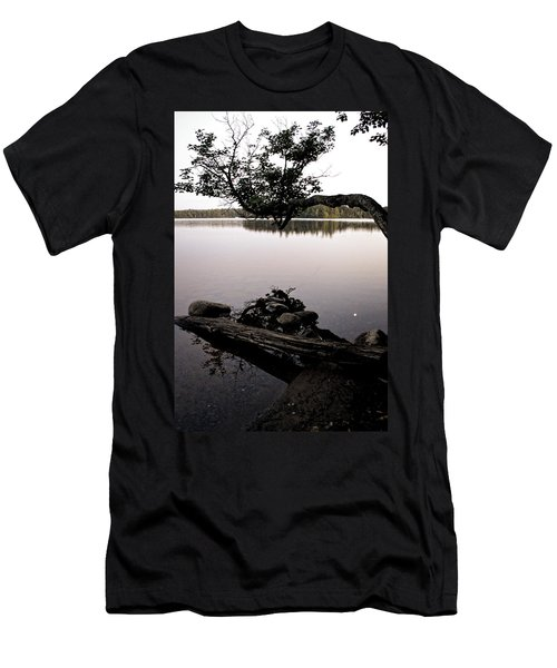 Marion Lake And The Moon Men's T-Shirt (Athletic Fit)