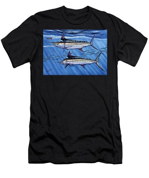 Marlins Twins Men's T-Shirt (Athletic Fit)