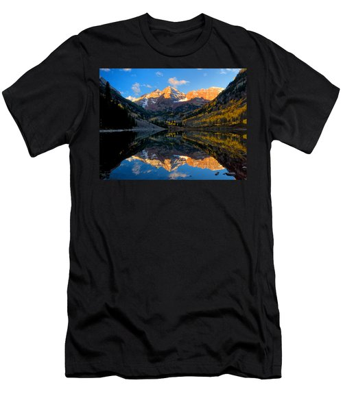 Maroon Bells Landscape Men's T-Shirt (Athletic Fit)