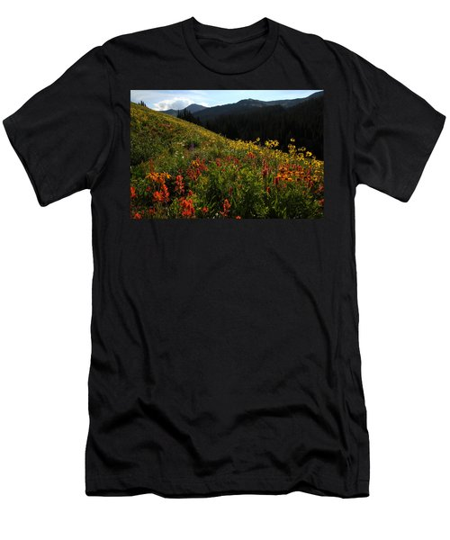 Maroon Bells Wilderness Men's T-Shirt (Athletic Fit)