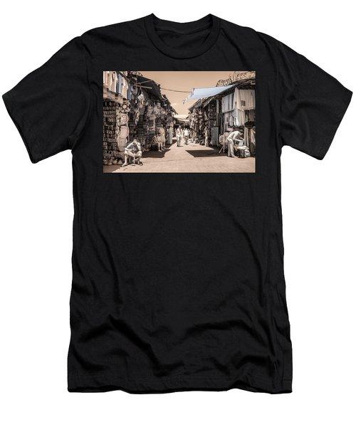 Marrakech Souk Men's T-Shirt (Athletic Fit)