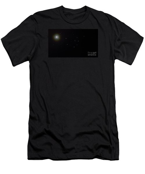 Men's T-Shirt (Slim Fit) featuring the photograph Mars by Joel Loftus