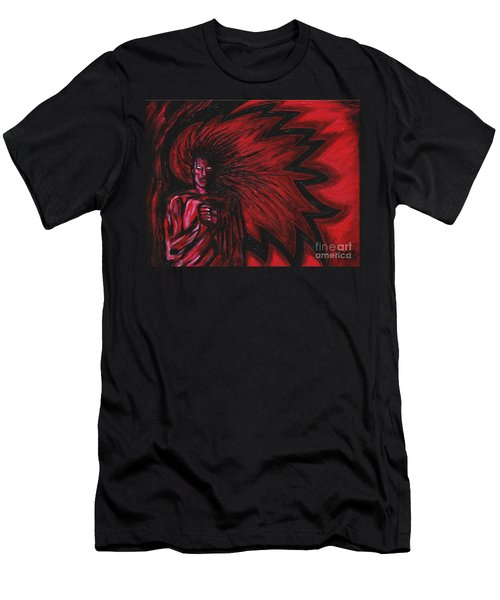 Mars Rising Men's T-Shirt (Athletic Fit)