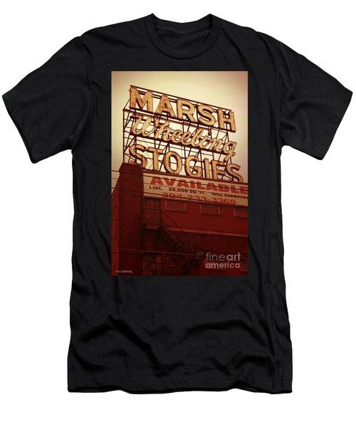 Marsh Stogies Sign Men's T-Shirt (Athletic Fit)