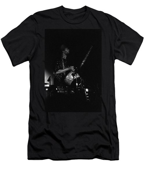 Marshall Allen Plays Strings  Men's T-Shirt (Athletic Fit)