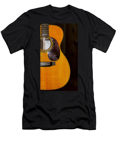 Martin Guitar  Men's T-Shirt (Slim Fit) by Bill Cannon