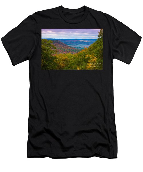 Martin Hill Foliage Men's T-Shirt (Athletic Fit)