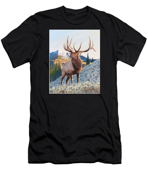 Mary's River Morning Men's T-Shirt (Athletic Fit)